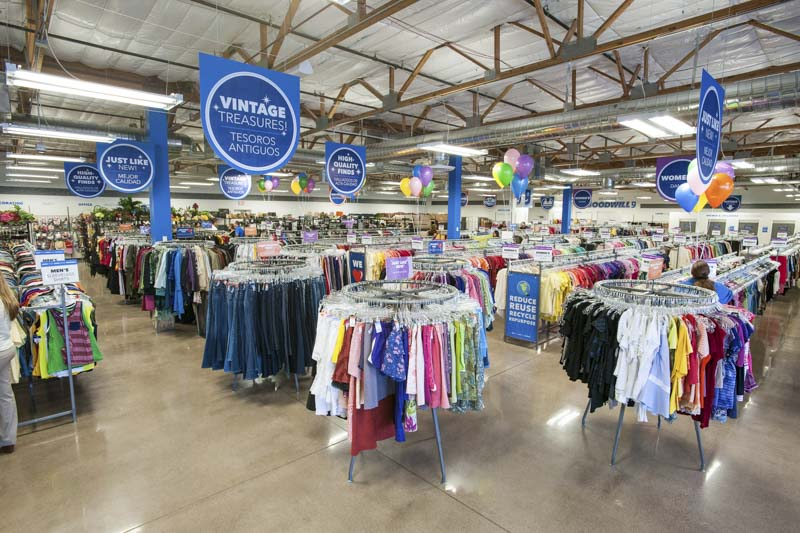Nine Tips for Shopping in Goodwill Stores