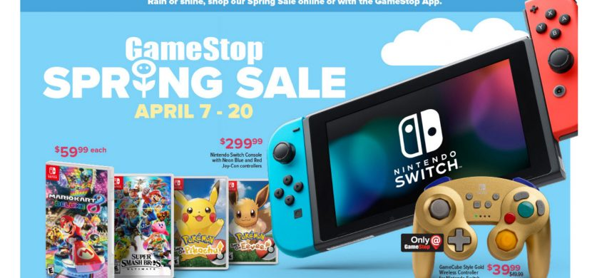 Perfect Easter Basket Gifts at GameStop