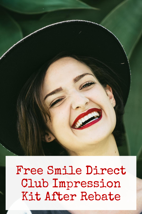 Free Smile Direct Club Impression Kit After Rebate