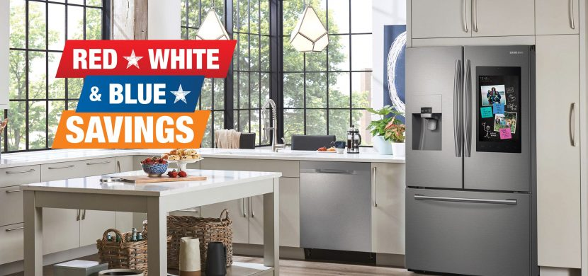 Red, White, & Blue SAVINGS at HomeDepot