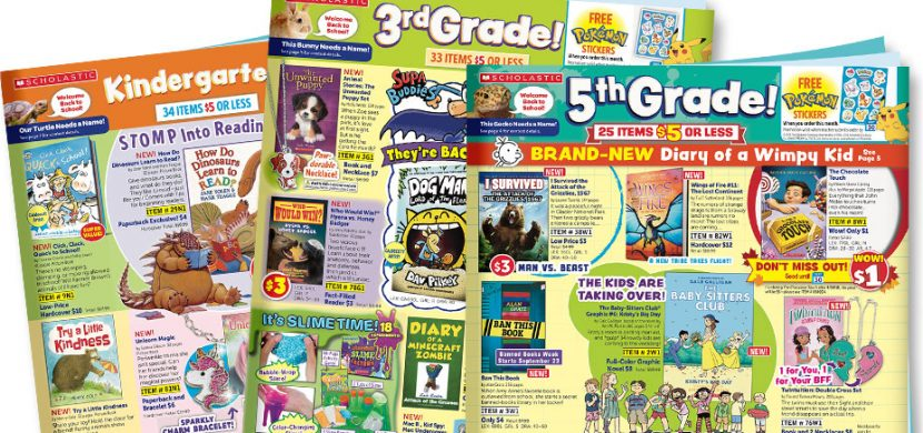 Back to School at Scholastic