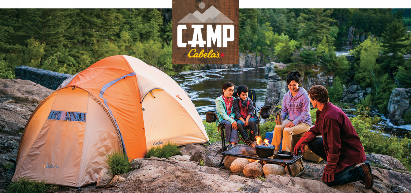 Spring Break Camping with Cabela's