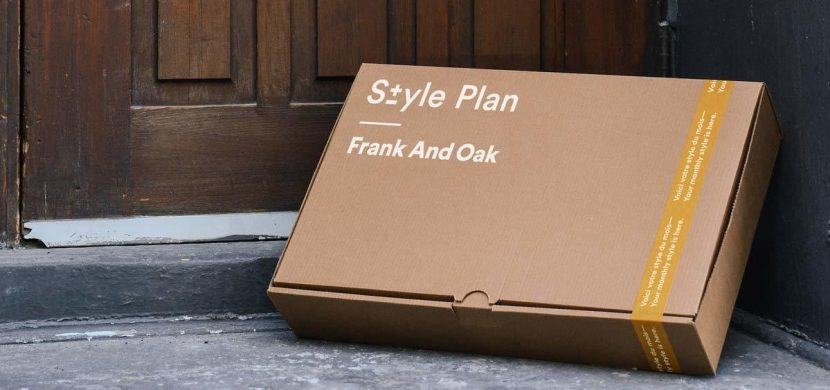 $50 off Frank And Oak Style Plan box