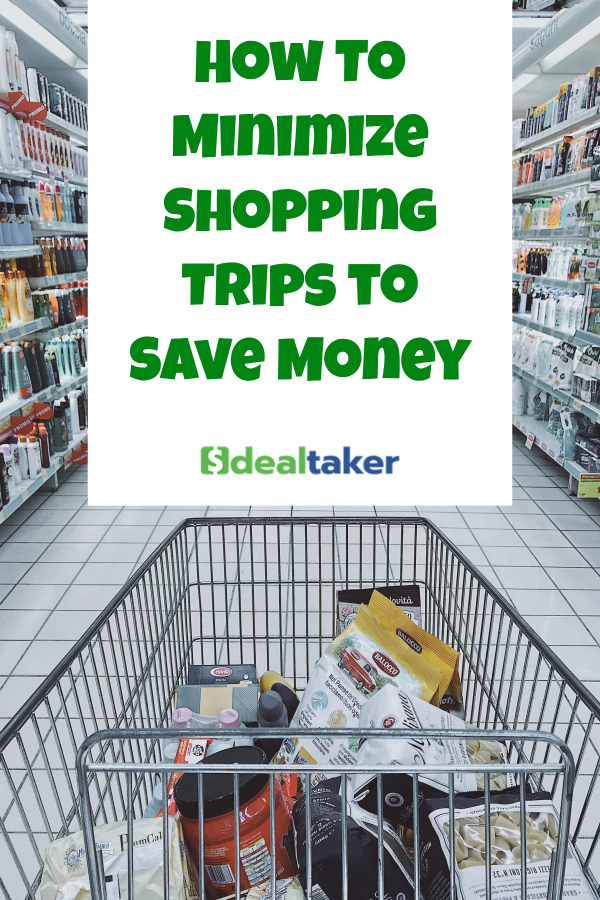 How To Minimize Shopping Trips to Save Money