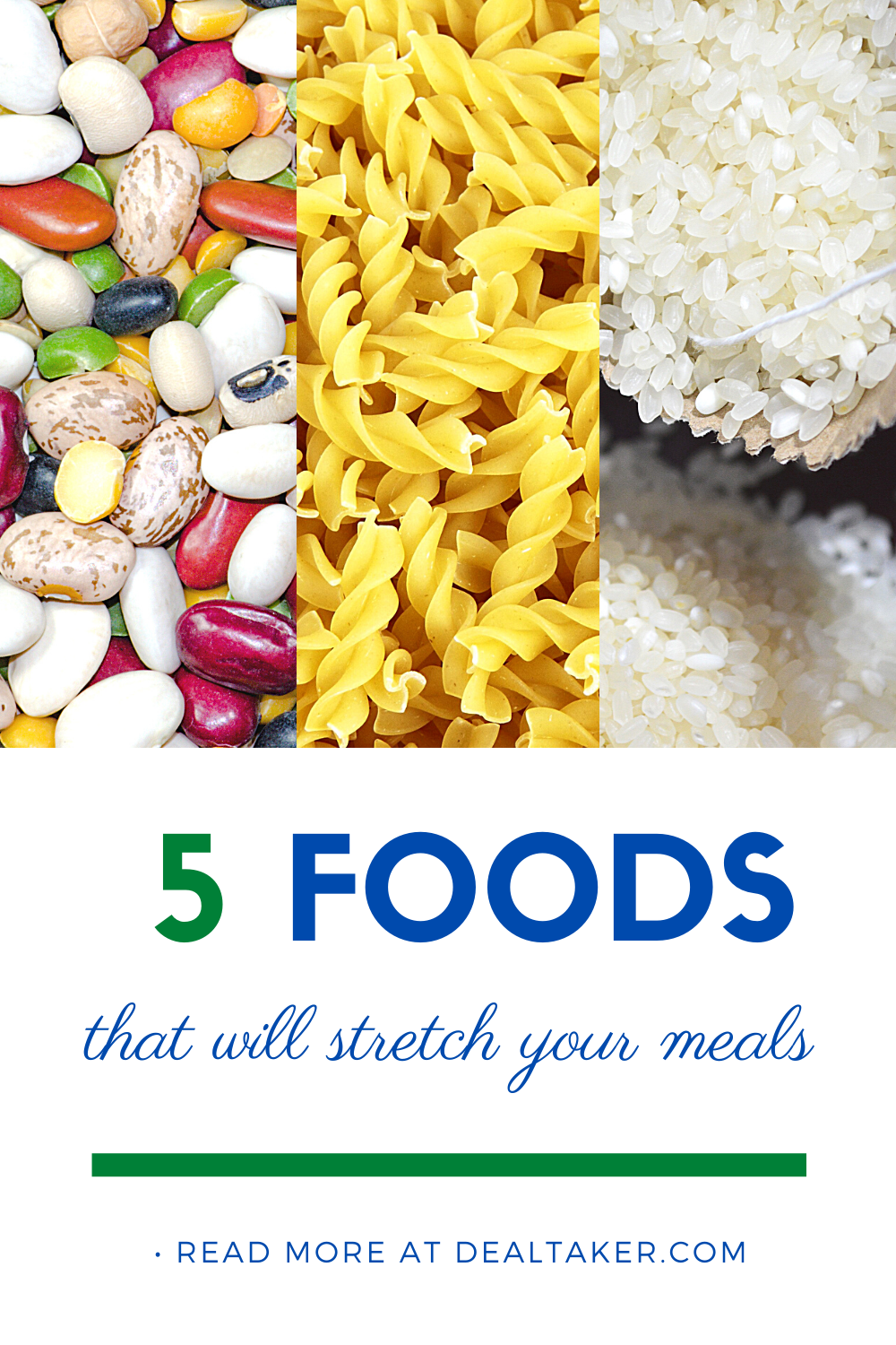 Stretch Food With These 5 Meal Stretchers