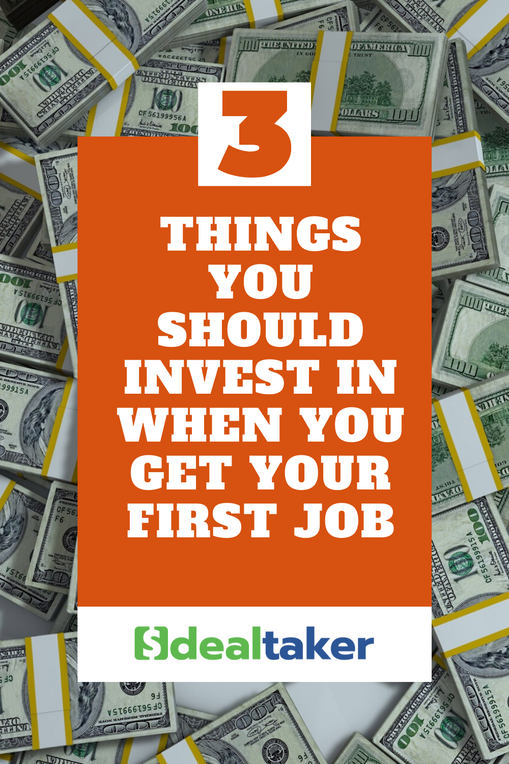 things you should invest in when you get your first job